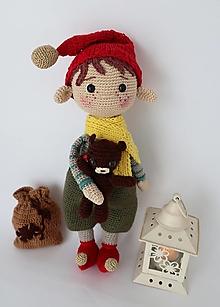Hračky - Vianočný elf - 13758195_