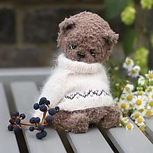 Hračky - Hnedý medvedík Ľubor - 13756291_