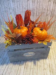 Dekorácie - Jesenná dekorácia - 13757070_