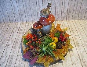 Dekorácie - Jesenná dekorácia - 13757126_