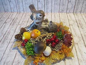 Dekorácie - Jesenná dekorácia - 13757132_