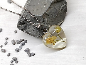 Náhrdelníky - Náhrdelník kvetoláska lipa srdce - 13762043_