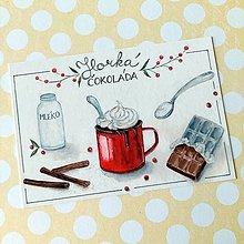 Papier - Horúca čokoláda - 13759137_