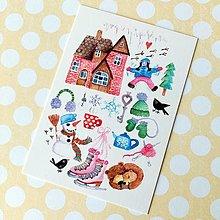 Papier - Zimné radosti - 13759215_