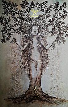 Obrazy - Živa a jablko - 13759408_
