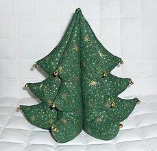 Dekorácie - Vianočný stromček (v.23cm, š.na spodnom rade 23cm) - 13760402_