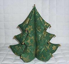 Dekorácie - Vianočný stromček (v.28cm, š.na spodnom rade 27cm) - 13760532_