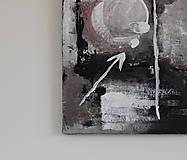 Obrazy - mother's womb II . akryl na plátne . A3 . abstraktná maľba - 13761227_