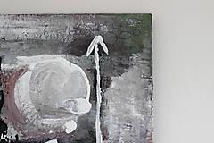 Obrazy - mother's womb II . akryl na plátne . A3 . abstraktná maľba - 13761229_