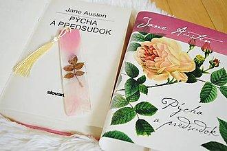 Papiernictvo - Záložka do knihy Jane Austen (M212) - 13758943_