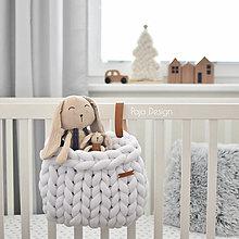 Úžitkový textil - Kapsár z bavlnene maxipriadze - 13762510_