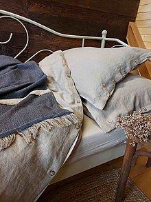 Úžitkový textil - Ľanové obliečky Simply Fresh Natur - 13761782_