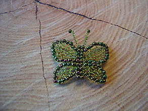 Brošne - Motýlik - 13763744_