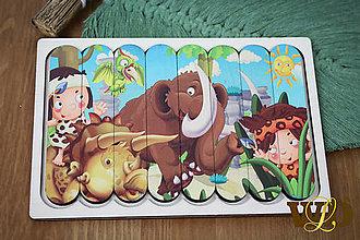 Detské doplnky - Drevené hračky DINO - 13765552_