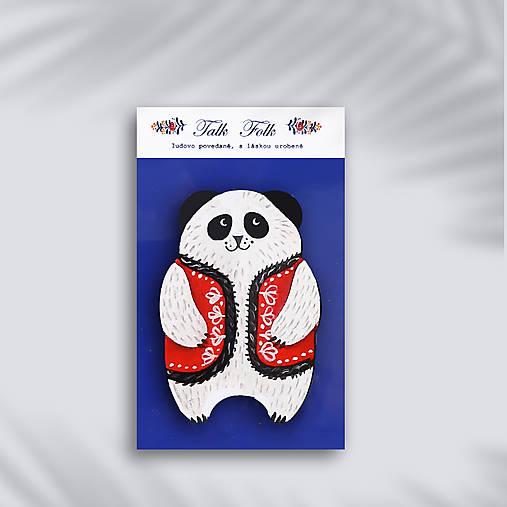 Brošnička - Panda (V veste)