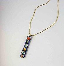 Náhrdelníky - TANA hand made jewellery - keramika/zlato - 13762951_