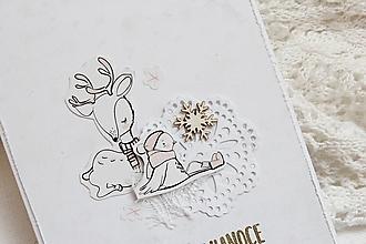 Papiernictvo - Vianočná pohľadnica - 13763445_