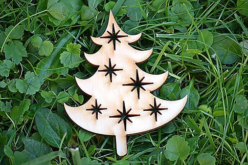 Vianočné ozdoby klassic (stromček)