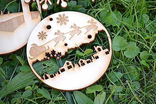 Vianočné ozdoby klassic (sobíky)