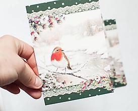 """Papier - Pohľadnica """"Červienka"""" - 13765370_"""