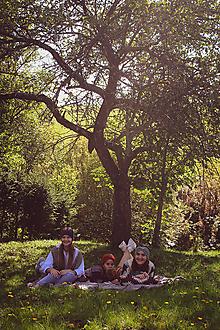 Ozdoby do vlasov - farby jesene - pletené čelenky - 13766176_