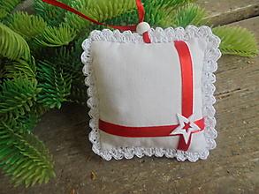 Dekorácie - Vianočný balíček - 13762570_