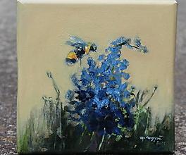 Obrazy - Zo včelej záhrady 1 - 13767742_