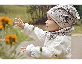 Detské súpravy - Bavlnený set obojstranný jednorožec pink - 13767883_