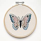 Obrázky - Výšivka Motýľ - 13766926_