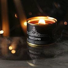 Svietidlá a sviečky - Sviečka mesiaca – zľava – Sójová sviečka Dedičstvo, 140 g - 13769729_