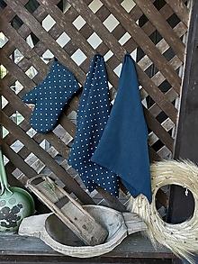 Úžitkový textil - Darčeková sada kuchynských doplnkov Blue - 13766980_