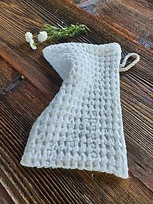 Úžitkový textil - Ľanová žinka White - 13768185_