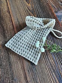 Úžitkový textil - Ľanová žinka Natur - 13768221_