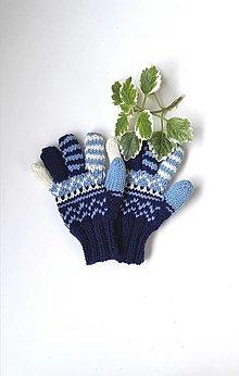 Detské doplnky - Detské prstové rukavice ll - 13776232_