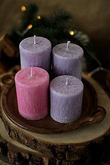Svietidlá a sviečky - TRADIČNÉ adventné sviečky - 13774332_