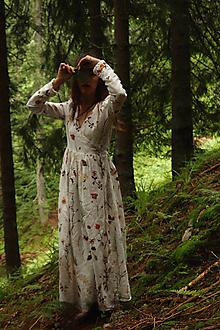Šaty - Zavinovacie šaty Čaro zimy - 13778671_