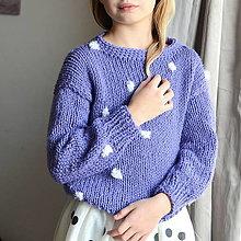 Detské oblečenie - svetrík ZASNEŽENÝ - 13778528_