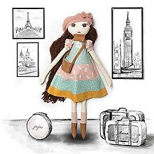 Hračky - Maxi bábika Anna - 13779380_