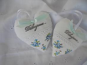 Darčeky pre svadobčanov - Svadobné srdiečko - 13778700_