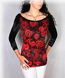 Topy, tričká, tielka - Triko vz.736 i krátký rukáv - 13783806_