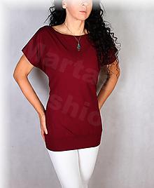 Topy, tričká, tielka - Triko vz.631(více barev) - 13783845_