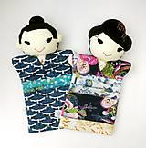 Hračky - Maňuška Japonka v (NE)tradičnom kimone (na objednávku) - 13781431_