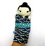 Hračky - Maňuška Japonka v (NE)tradičnom kimone (na objednávku) - 13781436_