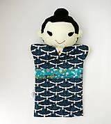 Hračky - Maňuška Japonka v (NE)tradičnom kimone (na objednávku) - 13781442_
