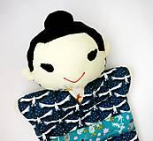Hračky - Maňuška Japonka v (NE)tradičnom kimone (na objednávku) - 13781443_