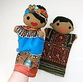 Hračky - Maňuška černoško/ černoška - 13781483_