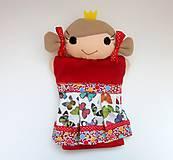 Hračky - Maňuška princezná (v motýlikovej sukienke) - 13782316_
