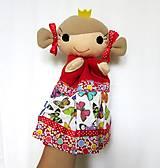 Hračky - Maňuška princezná (v motýlikovej sukienke) - 13782321_