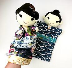 Hračky - Maňuška Japonka v (NE)tradičnom kimone (na objednávku) - 13781430_
