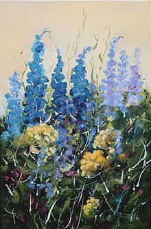 Obrazy - Kúsok záhrady - 13780627_